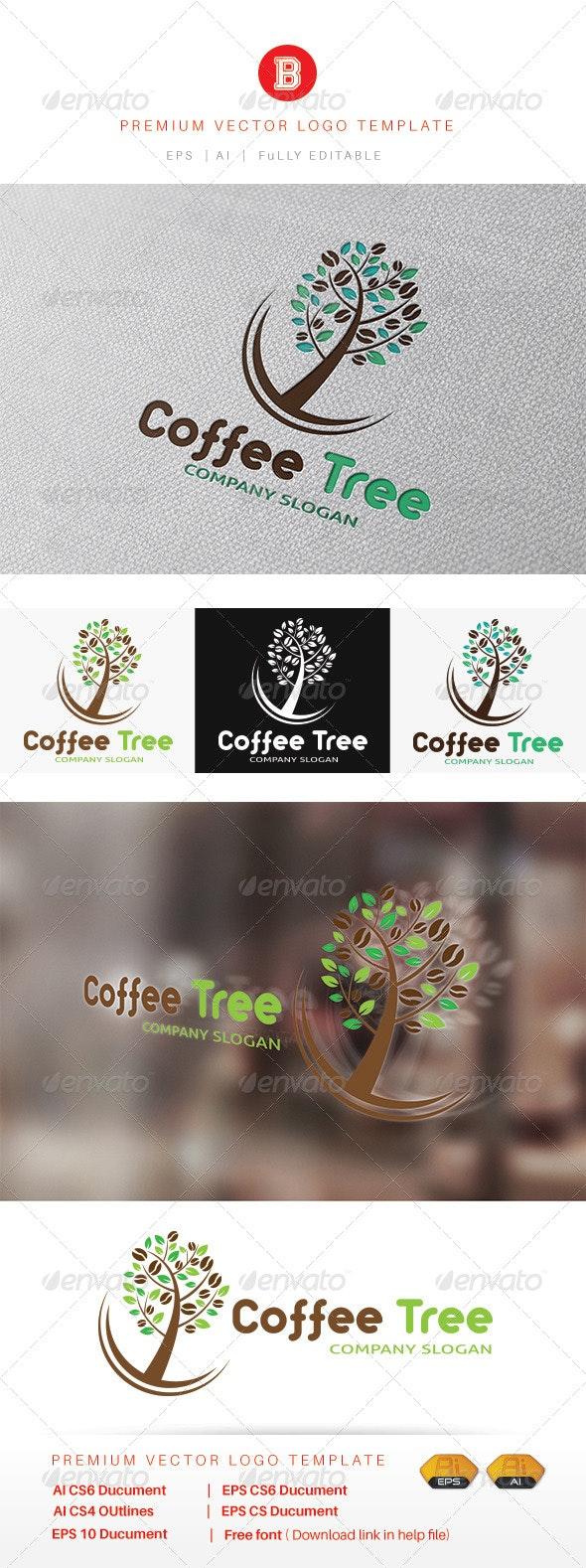 Coffee Tree - Symbols Logo Templates