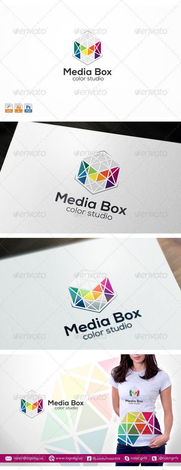 Multimedia M Logo - Letters Logo Templates