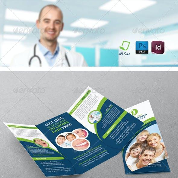 Dentist Tri-Fold Templates