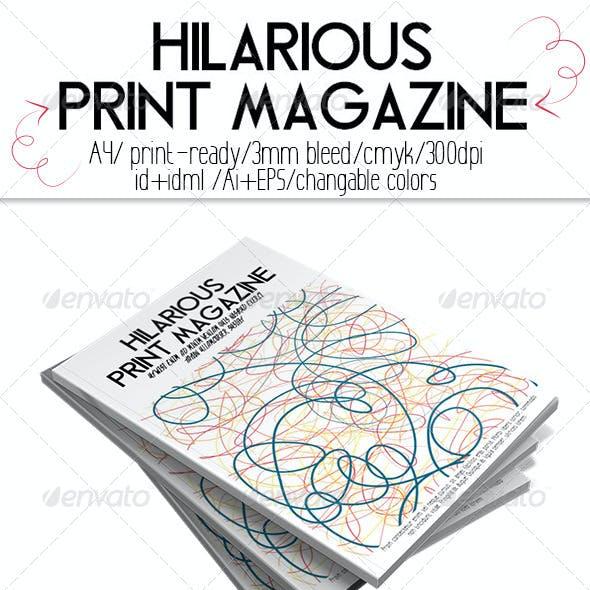 Hilarious Print Magazine