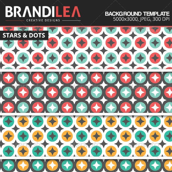 Stars & Dots Backgrounds