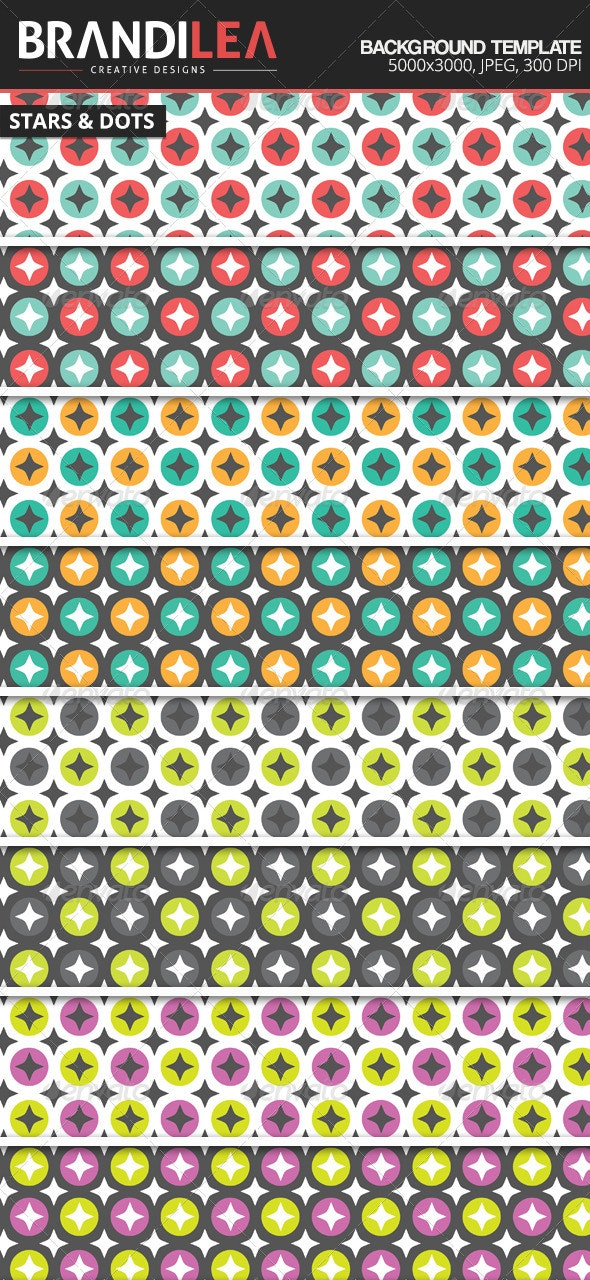 Stars & Dots Backgrounds - Backgrounds Graphics