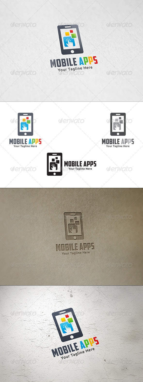 Mobile Apps - Logo Template