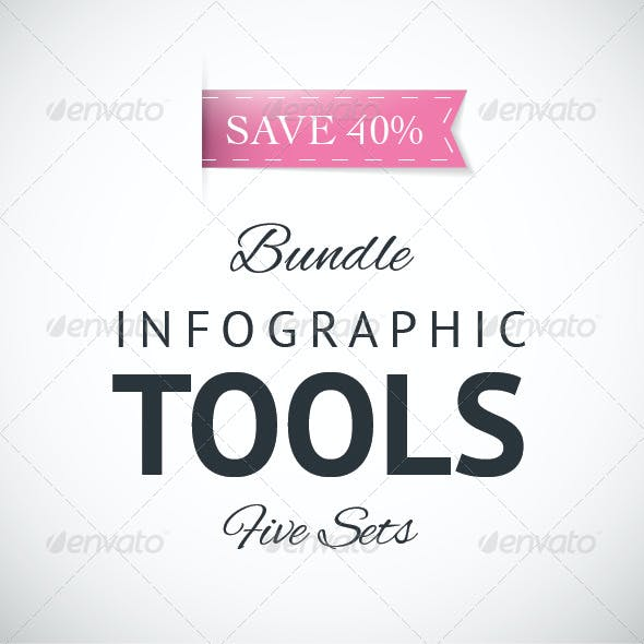 Infographic Vector Elements Bundle