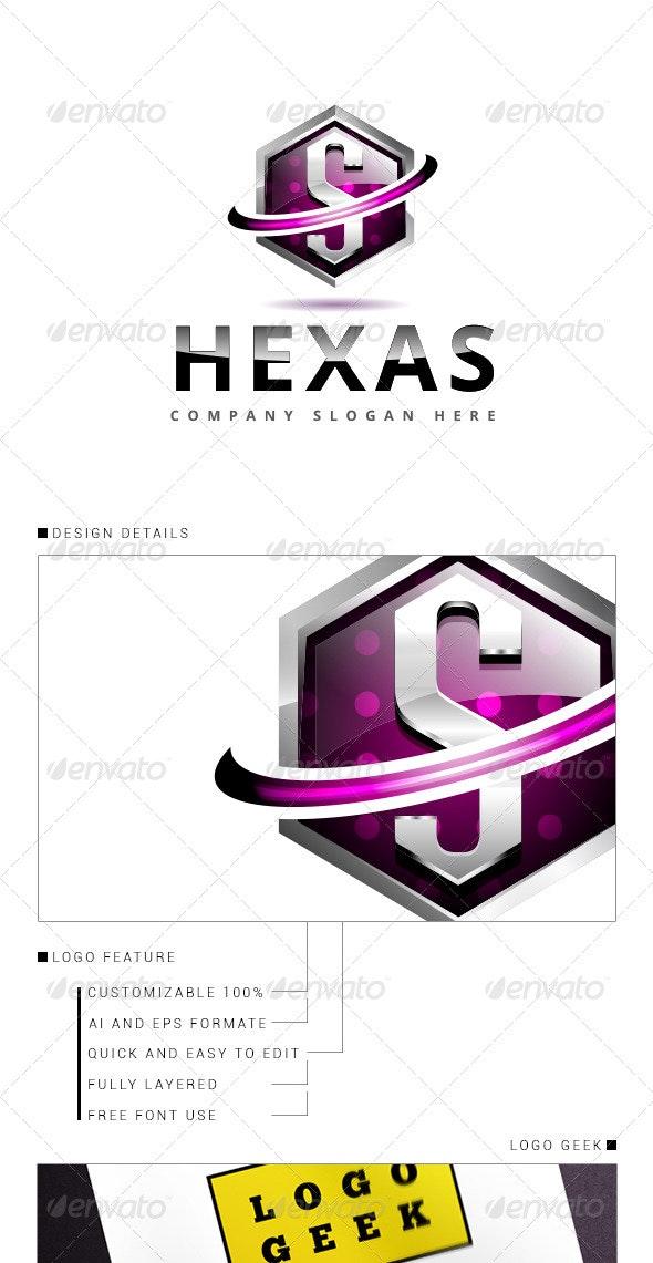 Hexa Logo 3D V.2 - Logo Templates