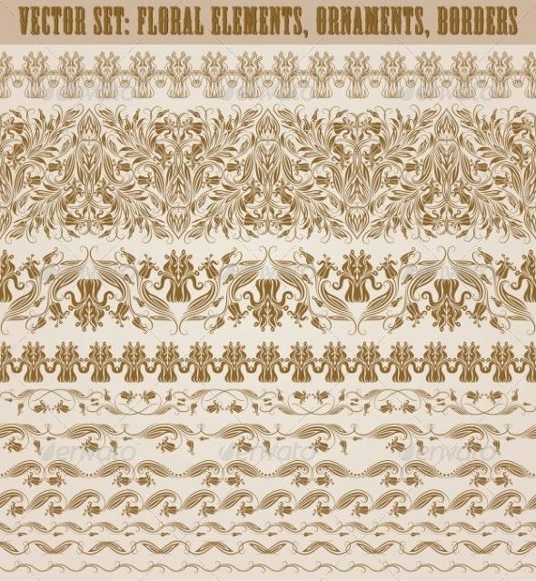 Horizontal Elements Decoration - Patterns Decorative