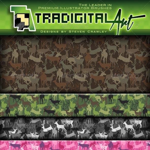 Buck & Bull (Deer & Elk Camo) Pattern Set +