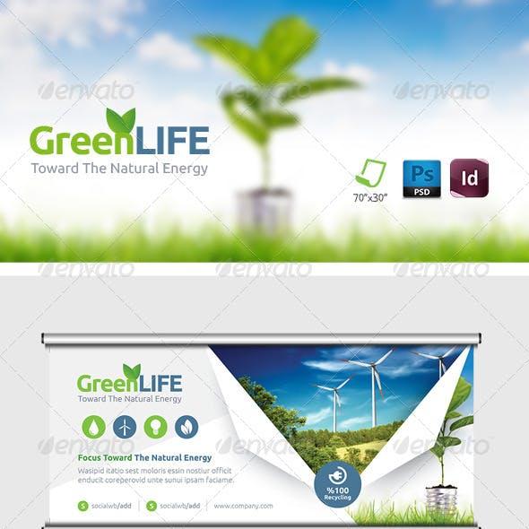 Green Energy Billboard Templates