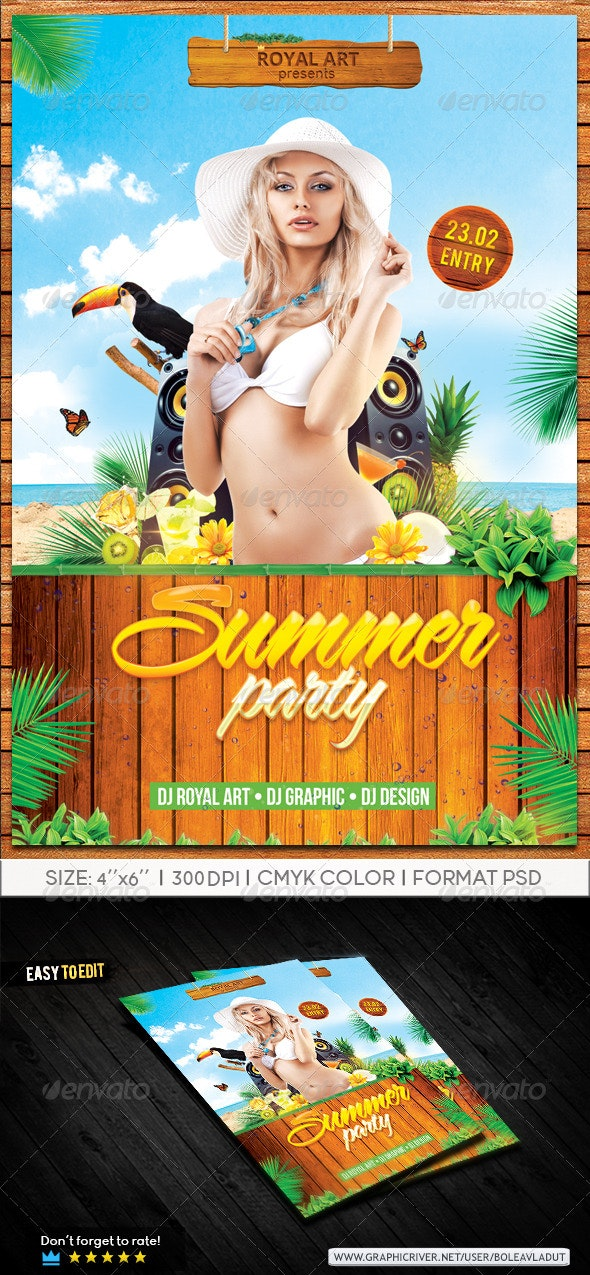 Summer Party Beach - Clubs & Parties Events