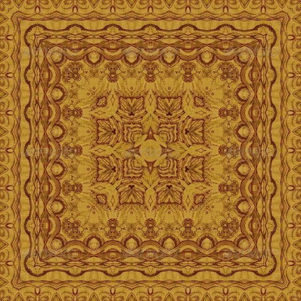 Seamless Graphic Pattern on Veneer - Patterns Decorative