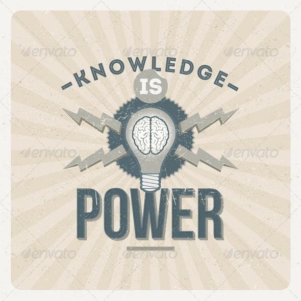 Knowledge is Power - Conceptual Vectors