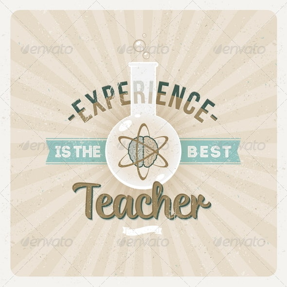 Experience is the Best Teacher - Conceptual Vectors