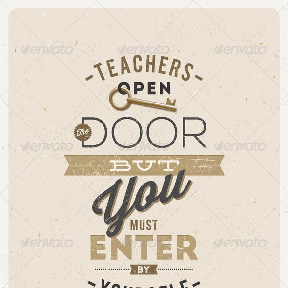 Quote About a Teacher