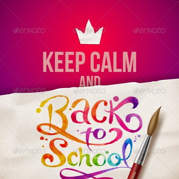 Back to School - Vector Illustration