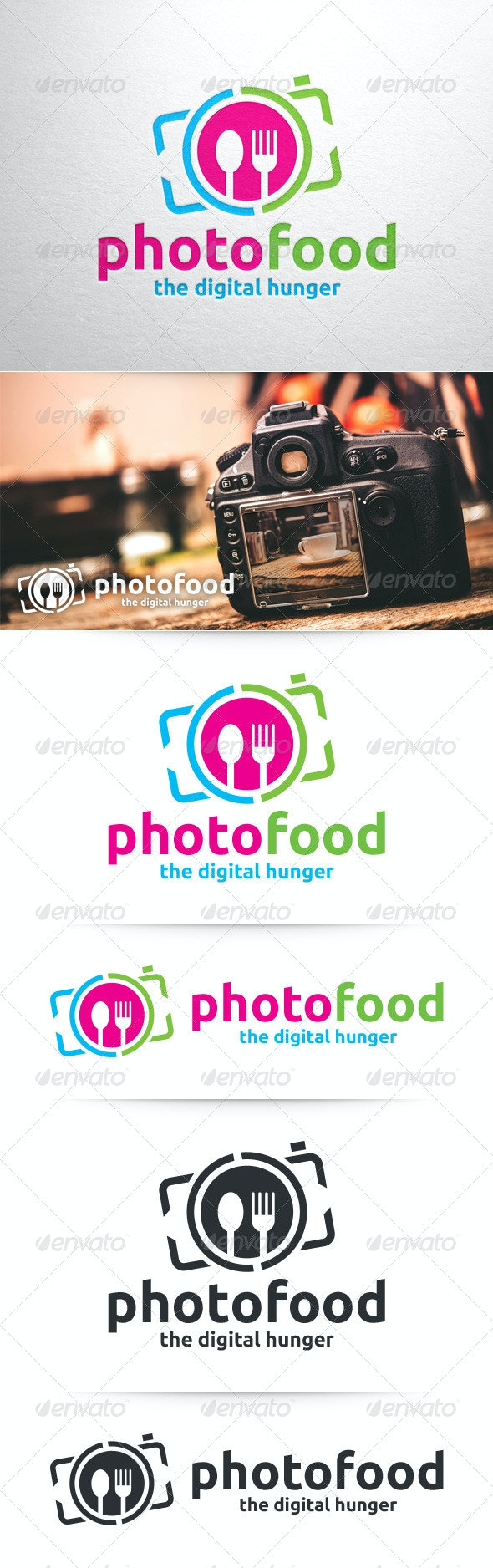 Photo Food Logo Template - Objects Logo Templates
