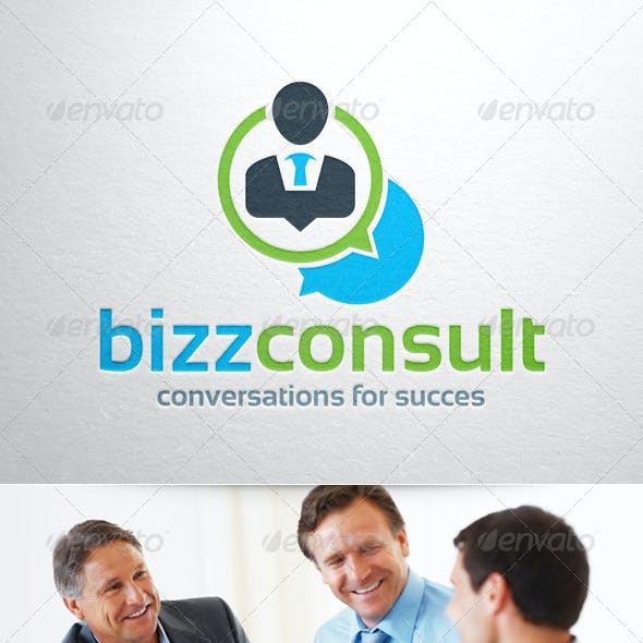 Business Consult Logo Template