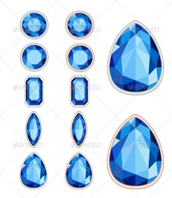 Gemstones - Miscellaneous Vectors