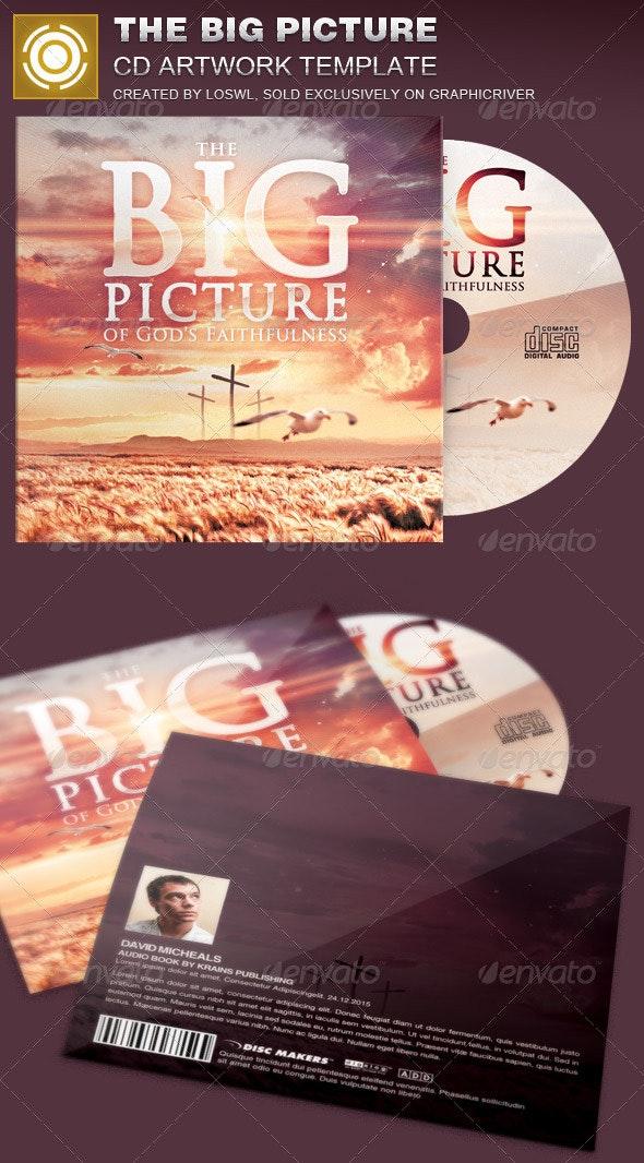 The Big Picture CD Artwork Template - CD & DVD Artwork Print Templates