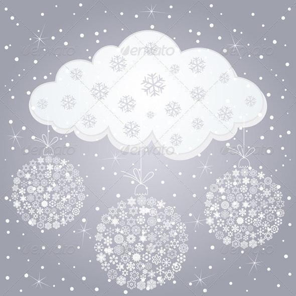 Winter cloud - Christmas Seasons/Holidays