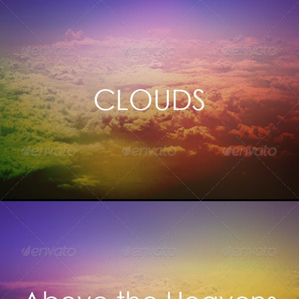 Clouds - Above the Sky Backgrounds
