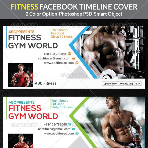 Fitness Facebook Timeline Cover