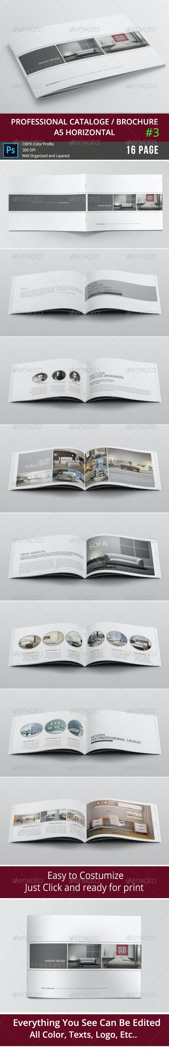 Simple & Clean A5 Catalogue 3 - Catalogs Brochures