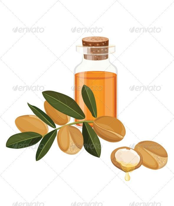 Argan Oil - Flowers & Plants Nature
