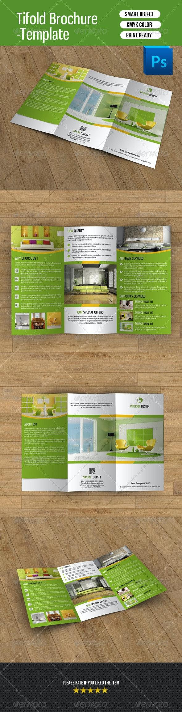 Trifold Brochure for Interior Design-V39 - Corporate Brochures