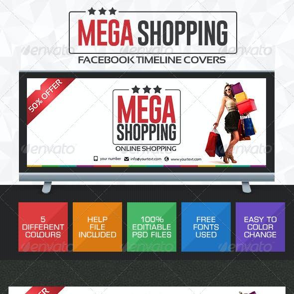 Shopping Deals Facebook Cover