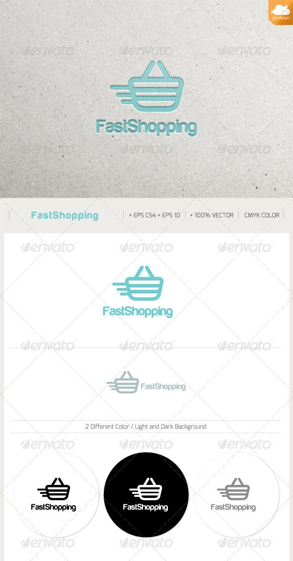 Fast Shopping - Objects Logo Templates