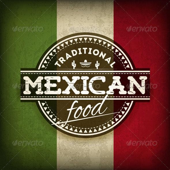 Mexican Food - Decorative Symbols Decorative