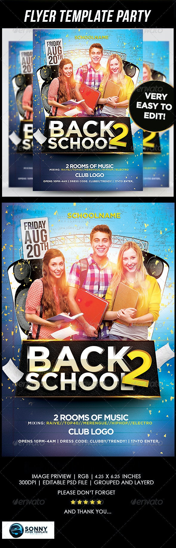 Back to School - Clubs & Parties Events
