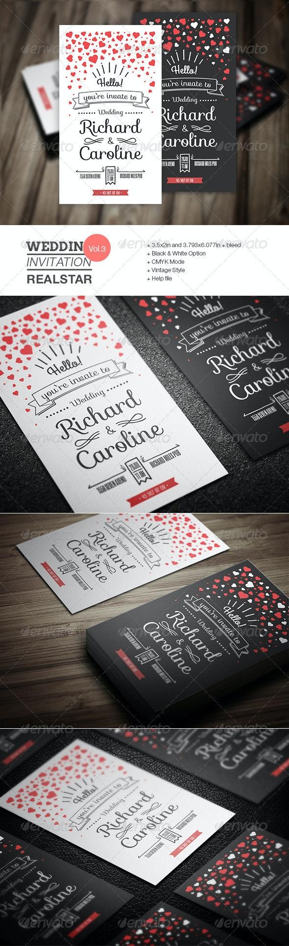 Wedding Invitation III - Invitations Cards & Invites