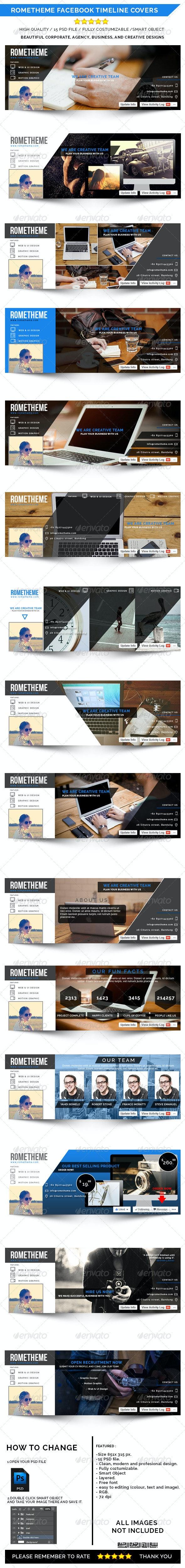 Rometheme Facebook Timeline Cover - Facebook Timeline Covers Social Media