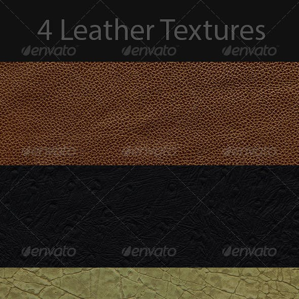 4K New Leather Texture Pack 1200dpi