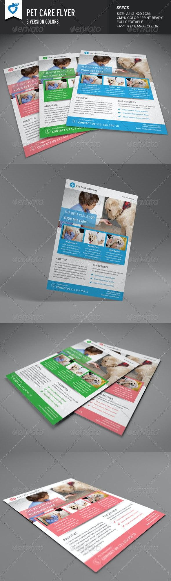 Pet Care Flyer - Corporate Flyers