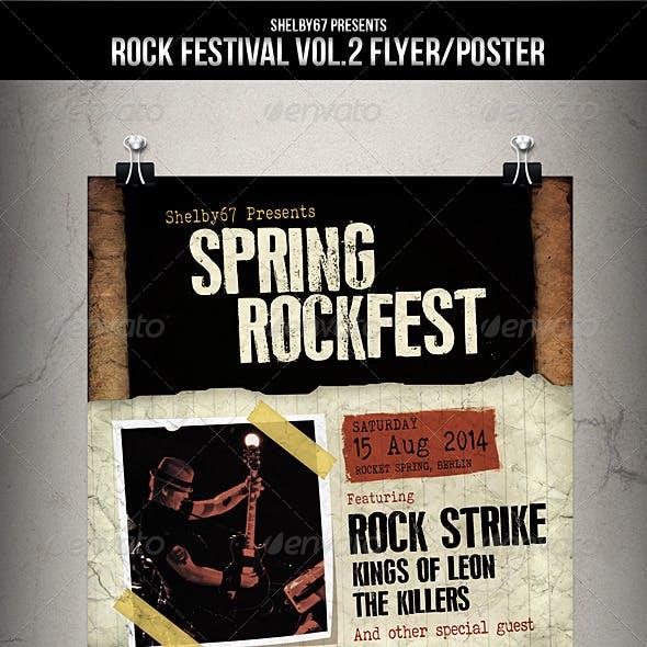Rock Festival Flyer / Poster Vol 2