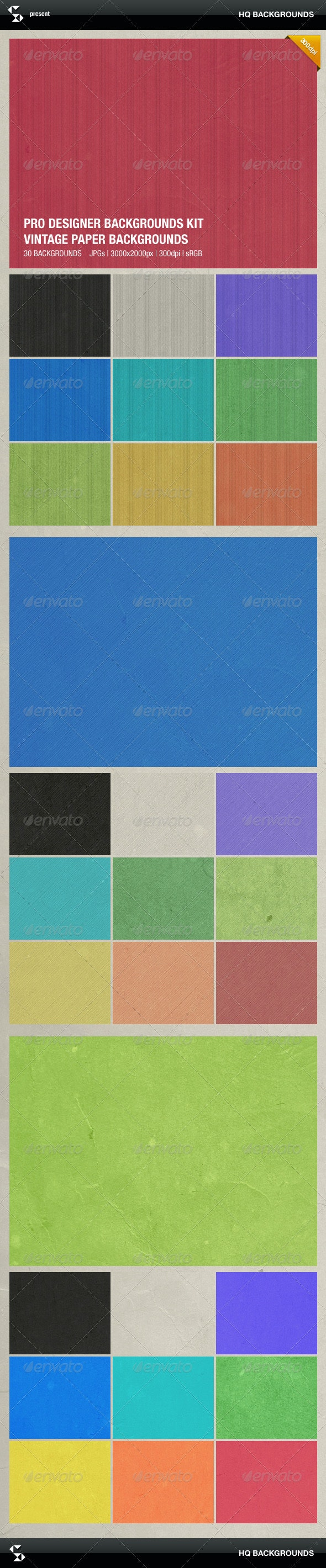 Vintage Grunge Paper Backgrounds - Miscellaneous Backgrounds