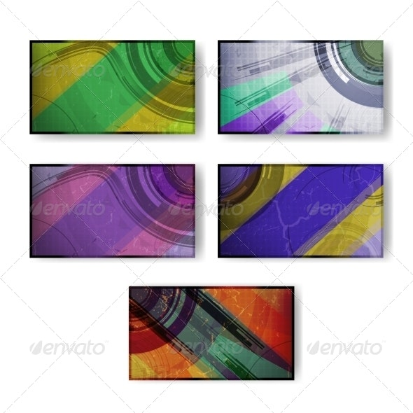 Set for Abstract Backgrounds - Abstract Conceptual