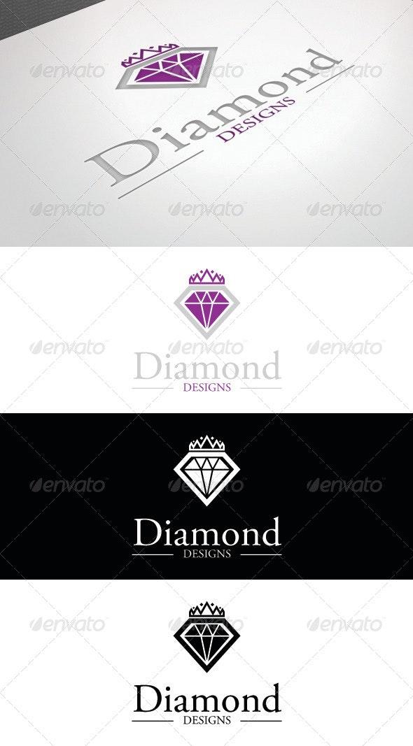 Diamond Designs Logo Template - Logo Templates