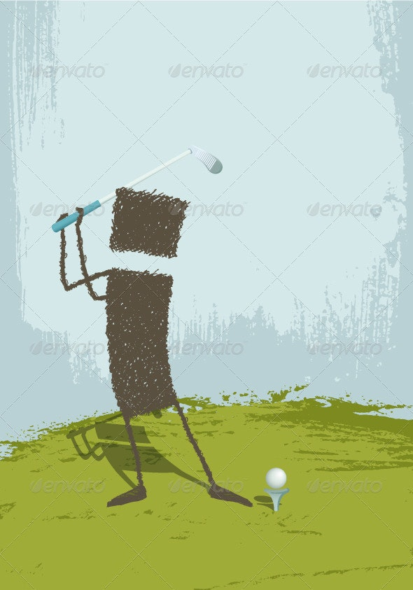 Golfer - Sports/Activity Conceptual