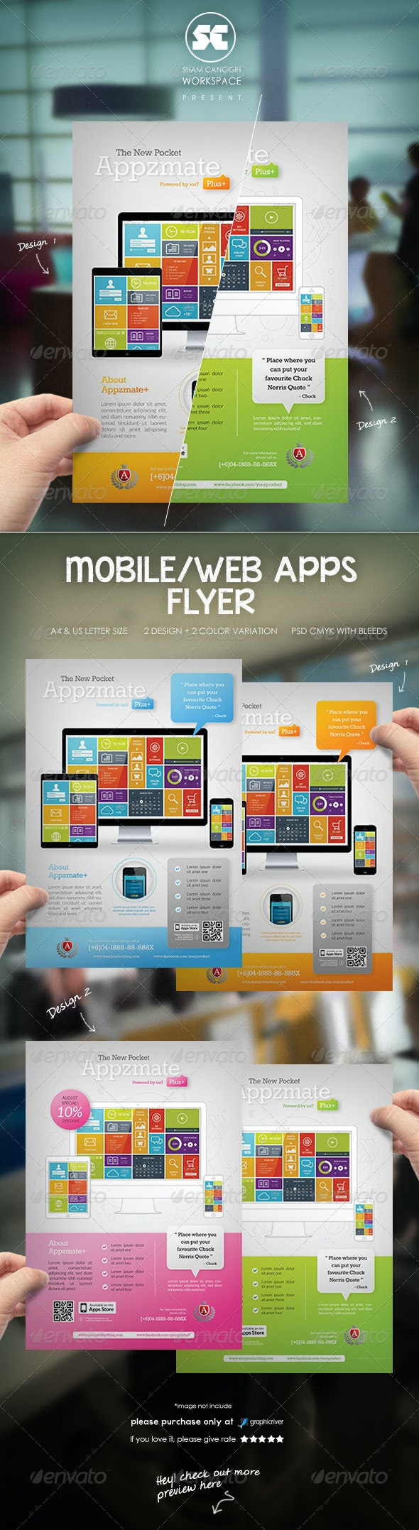 Mobile Apps Business Flyer / Magazine Ads - Miscellaneous Events