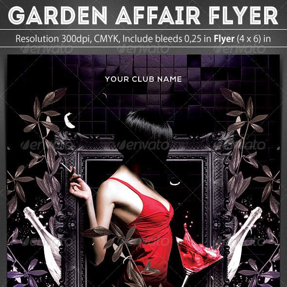 Garden Affair Flyer