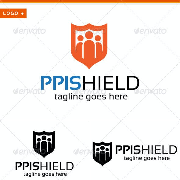 Shield & People Logo