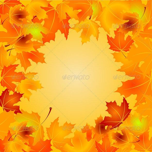 Autumn Leaves  - Backgrounds Decorative