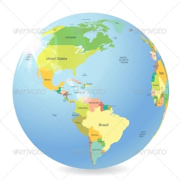 Globe - Travel Conceptual