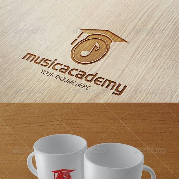 Music Academy - Logo Template