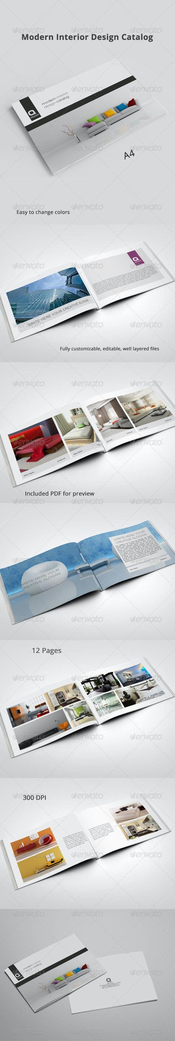 Modern Interior Design Catalog - Catalogs Brochures