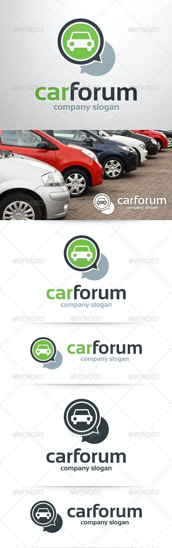 Car Forum Logo Template - Objects Logo Templates
