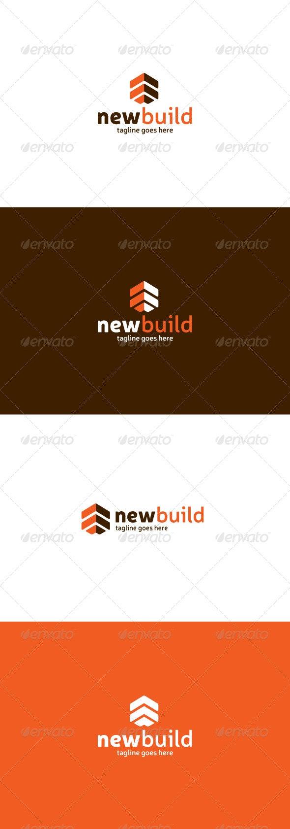 New Build Logo - Buildings Logo Templates